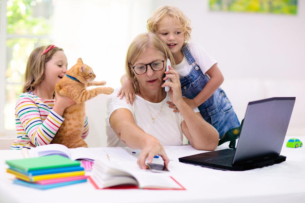 Kinderbetreuung daheim